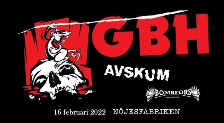 GBH + Avskum + Bombfors