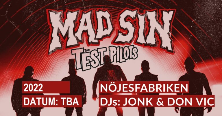 Mad Sin + The Test Pilots