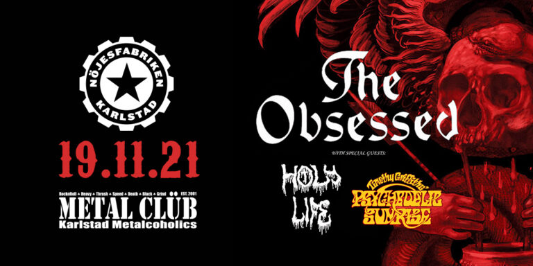 The Obsessed + Holy Life + Timothy Griffiths' Psychedelic Sunrise