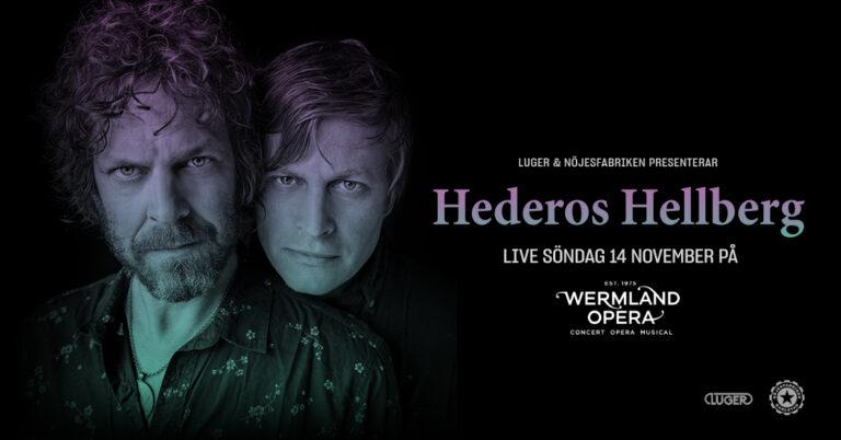 Hederos Hellberg – Live på Wermland Opera